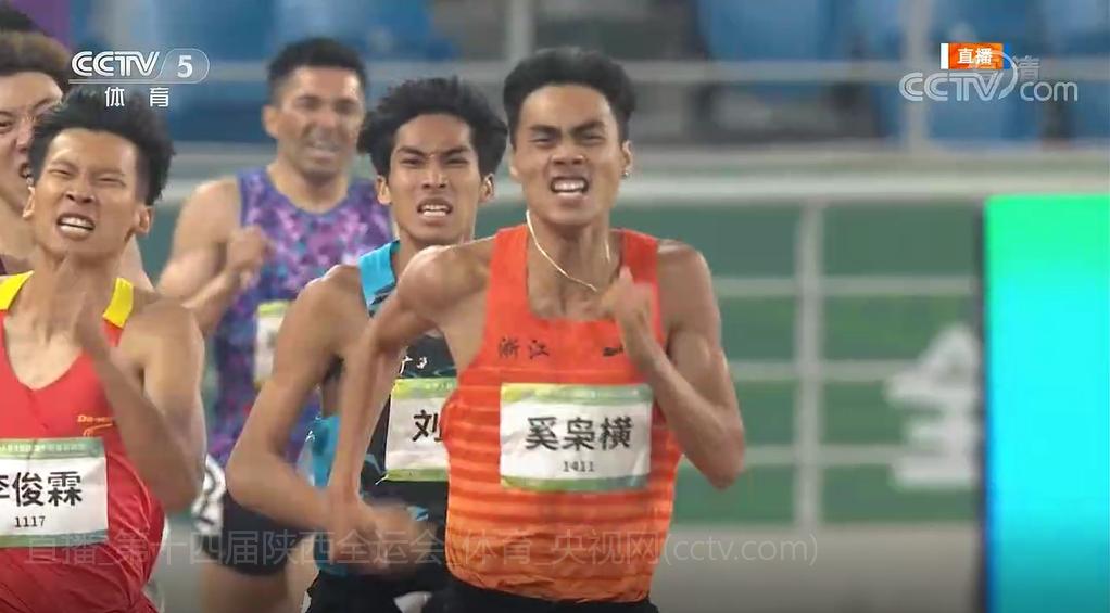 台州运动员,全运会800米银牌!今晚角逐男子1500米