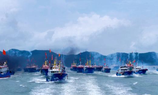 台州3434艘渔船今日奔赴东海 即将载鱼归来